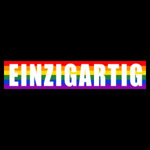Einzigartig LGBT Gay Pride CSD Queer Regenbogen