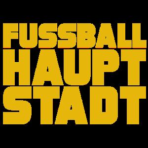 Fussball Hauptstadt gelb