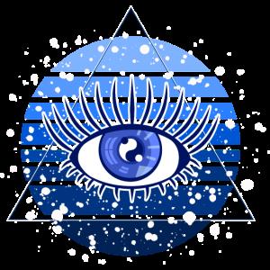 Auge sehend göttlich mystisch cool Symbol Zeichen