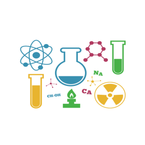 Lustiges Chemieprodukt Chemie ist Magie