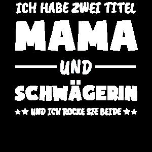 Schwägerin 2020 Überraschung Mama Geschenk