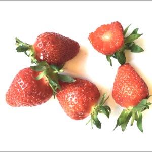 Rode Erdbeern