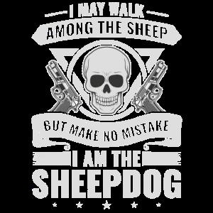I Walk Among Sheep Sheepdog Police Officer Cop
