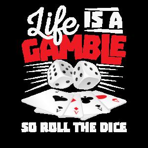 Lustiges Casino-Glücksspielprodukt I Poker Card Player