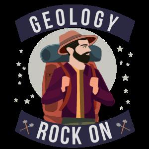Geologie Wissenschaften Geologe Geschenk Felsen
