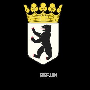 Berlin Hauptstadt Bärenstark Geschenkidee Wappen