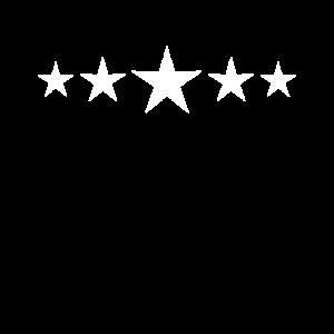 Weisse Vintage Sterne