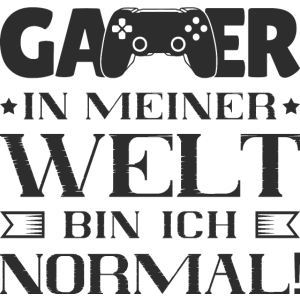 Lustiger Gamer Spruch Zocker Computerspieler Nerd