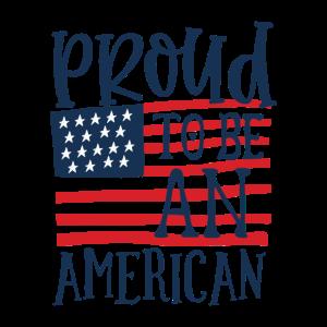 Stolzer Amerikaner - 4. Juli Unabhängigkeitstag
