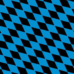 Bayerische Rauten (weiß/blau)