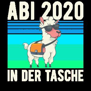 ABITUR ABI 2020 Lama In der Tasche