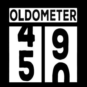 Oldometer 50 Jahre alt 50 Geburtstag 50 Jahre alt