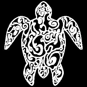 Turtle Tattoo - Maori-Muster