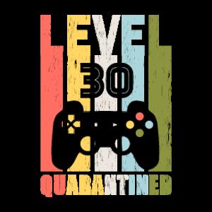 Game Level 30. Geburtstag Geschenk Geboren in 1990