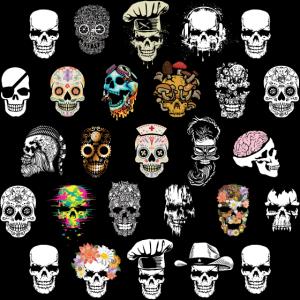 Totenkopf Mund und Nasenschutz Maske