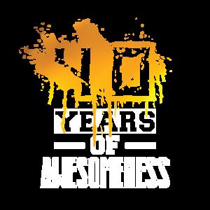 40 einzigartige Jahre!