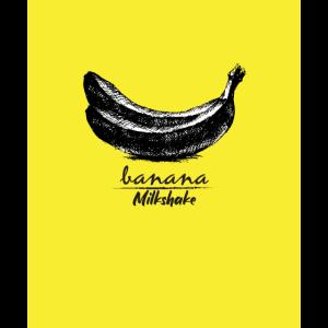 Bananen-Milchshake-T-Shirt