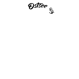 Ostseeliebe - Anker Skull Design