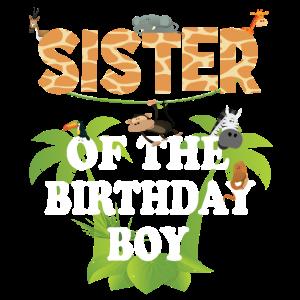 Schwester des Geburtstagskindes Zoo-Tierparty