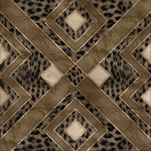 Geometrisches Muster der Leopardenfell-Textur