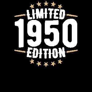 Limitierte Ausgabe 1950 - geboren 1950 - 70 ..