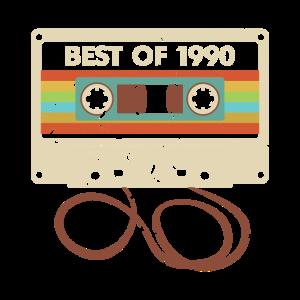 Trending Vintage Best Of 1990 30. Geburtstag