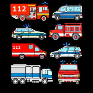 Polizei Feuerwehr Fahrzeuge