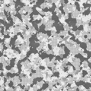 Digital Grey Urban Camouflage Army Military Design