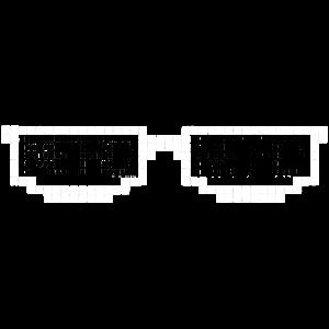Nerdbrille Pixelart | Pixel Rainier