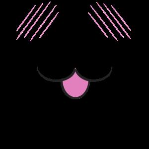 Anime-Cat Mask Neko 5 White