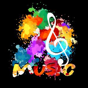 Notenschlüssel Musiker Musik Klassische Musik