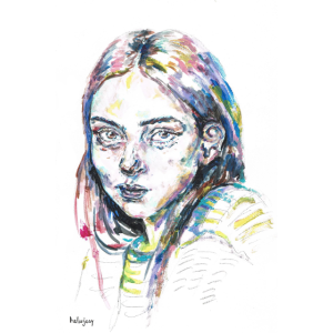 Portrait Melancholie
