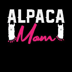 Alpaka Mom | Mama Mutter Alpakas Lama Bäuerin Hof