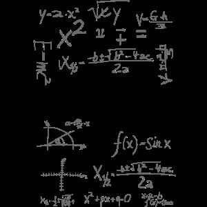 18 Jahre Mathemathik Formeln Geburtstagsgeschenk