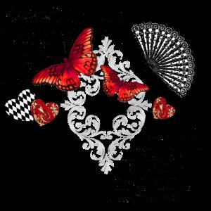 Schmetterlinge romantisch