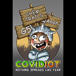 Poster Covidiot