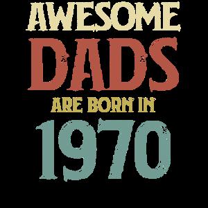Ehrfürchtige Väter werden 1970 geboren