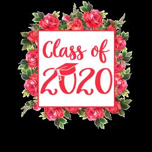 Klasse von 2020 Blumen