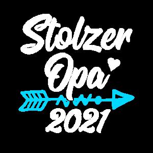 Stolzer Opa 2021, Geschenkidee, Geburtstag