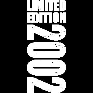 Limited Edition 2002 18. Geburtstag Geschenk