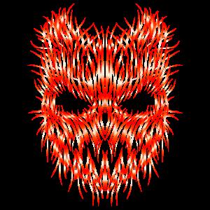 Rockig Maske Festival Shirt