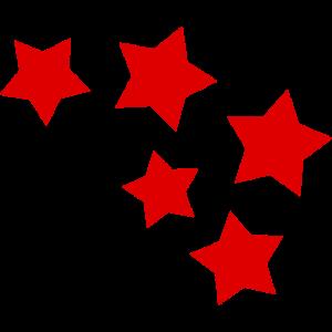 lustige Sterne Geschenk Weihnachten Muster