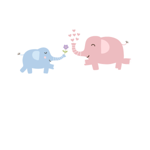 Elefanten Umarmung