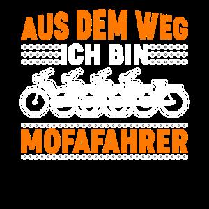 Mofa Moped Mofafahrer Geschenk