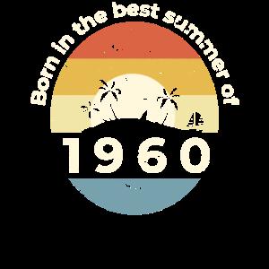 61. Geburtstag Vintage Geboren 1960 Party Geschenk