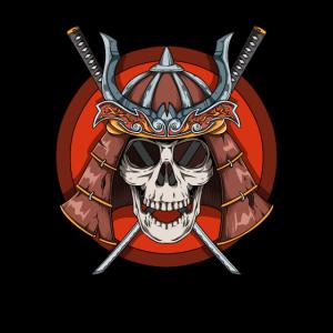 Samurai Totenkopf - Krieger Skull