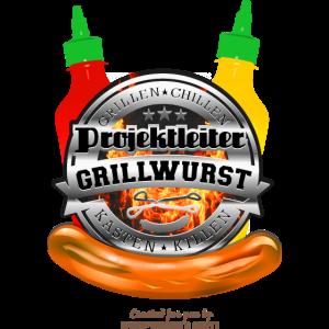 Grillen T Shirt Projektleiter Grillwurst