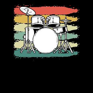 Schlagzeuger Schlagzeug