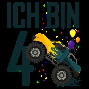4. Geburtstag Monster Truck