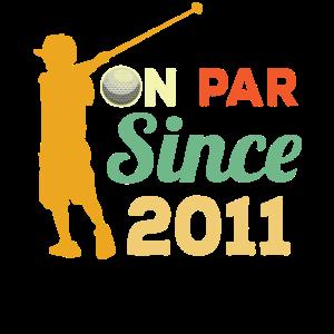 Nettes Golfhemd - 11. Geburtstagshemd - 12. Geburt